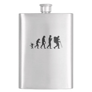 Hiking  evolution, #Hiking Flask