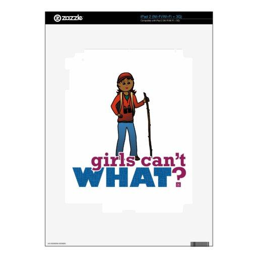 Hiking Girls iPad 2 Skins