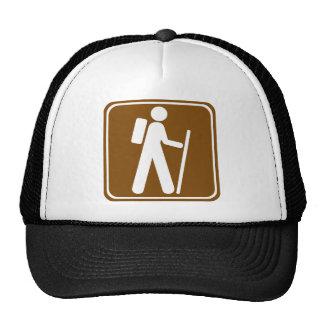 Hiking Highway Sign Trucker Hat