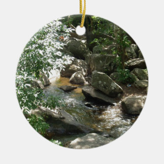 Hiking in St Peters Village in Elverson Pa Christmas Ornament