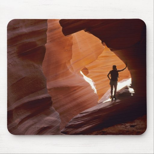 Hiking in the Corkscrew section of Antelope Mousepads
