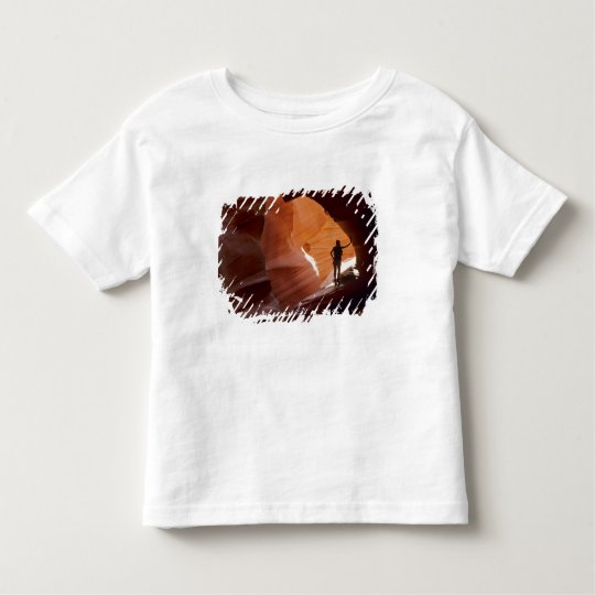 Hiking in the Corkscrew section of Antelope Toddler T-shirt