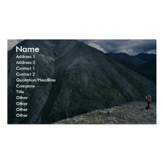 Hiking in the Franklin Mountains Business Cards