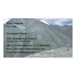 Hiking in the Franklin Mountains Business Card Templates