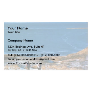Hiking in Winter Business Cards