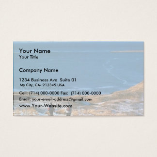 Hiking in Winter Business Card