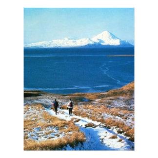 "Hiking in Winter 8.5"" X 11"" Flyer"