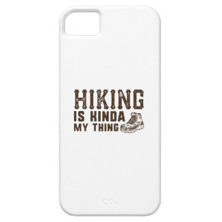 Hiking Is Kinda My Thing iPhone SE/5/5s Case