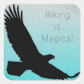 Hiking is Magical Bumper Sticker
