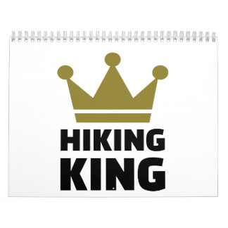 Hiking king calendar