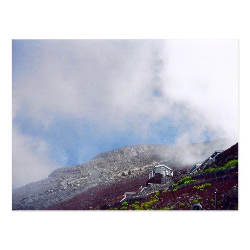 Hiking Mount Fuji Postcard