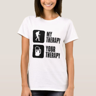 hiking my therapy designs T-Shirt