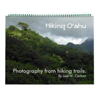 Hiking Oahu Calendar