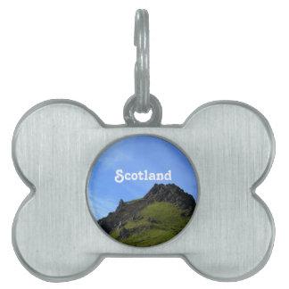 Hiking on Skye Pet Name Tag