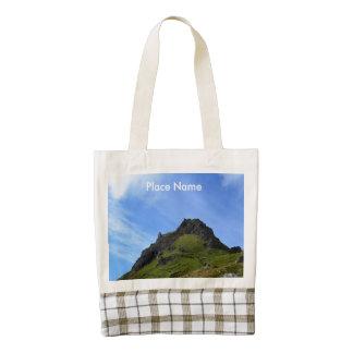Hiking on Skye Zazzle HEART Tote Bag