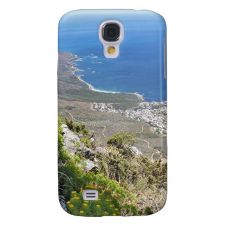 Hiking on Table Mountain- View over Camp's Bay Samsung Galaxy S4 Cover