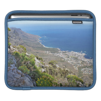 Hiking on Table Mountain- View over Camp's Bay Sleeve For iPads