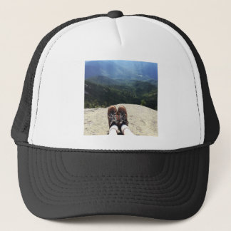 Hiking On Top of the World Trucker Hat