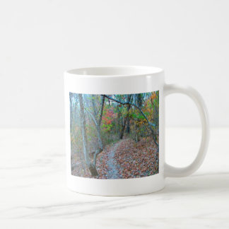 Hiking Right Up The Hill Coffee Mug