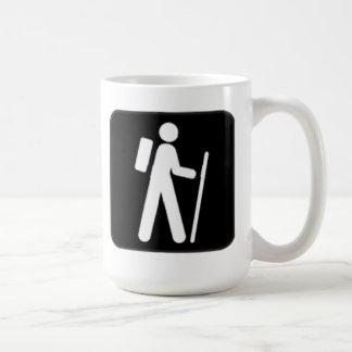 Hiking Sign Coffee Mug