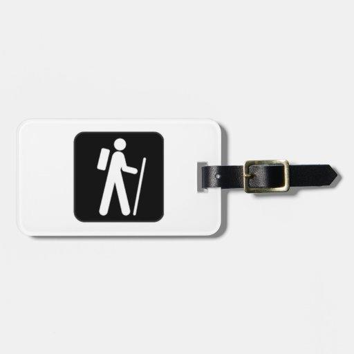 Hiking Sign Luggage Tag