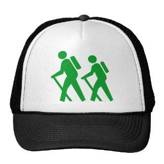 Hiking Symbol Hiking Symbol Trucker Hat