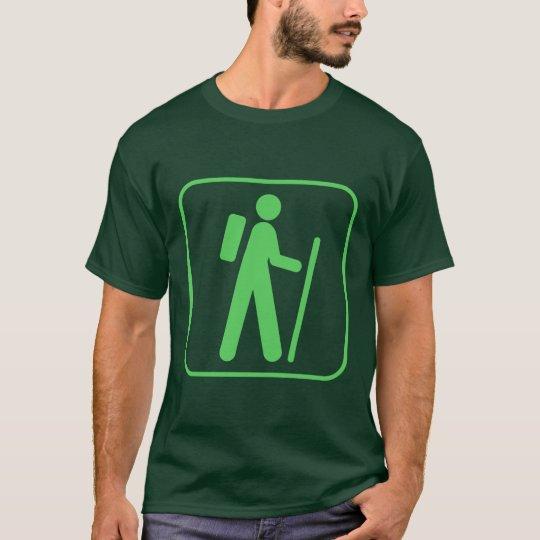 Hiking Symbol T-Shirt