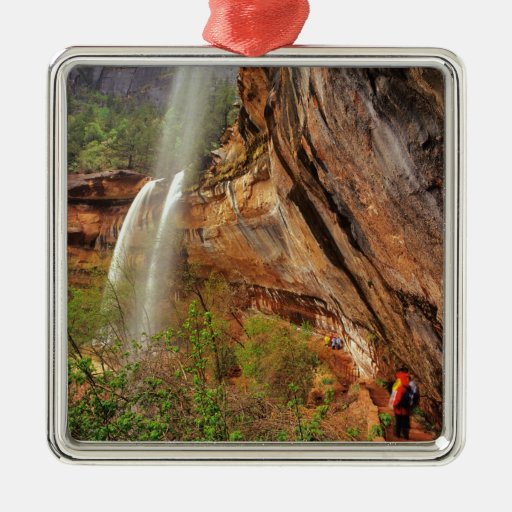 Hiking The Emerald Pools Trail in Zion National Ornament