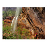 Hiking The Emerald Pools Trail in Zion National Postcards