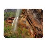 Hiking The Emerald Pools Trail in Zion National Rectangle Magnets