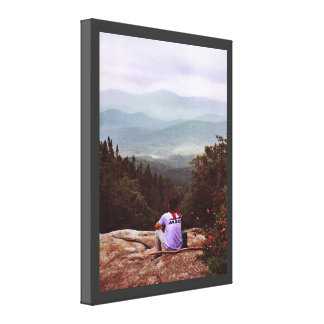 Hiking the Wilderness Canvas Print