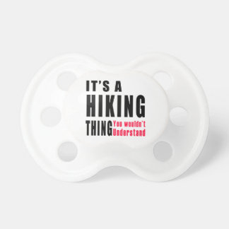 Hiking Thing Designs Baby Pacifiers