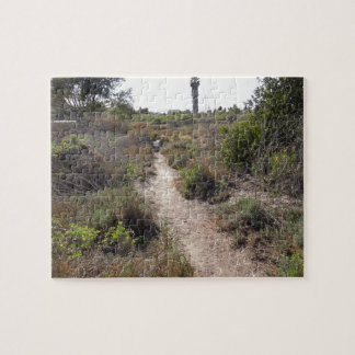 Hiking Trail at Andree Clark Bird Refuge Jigsaw Puzzle