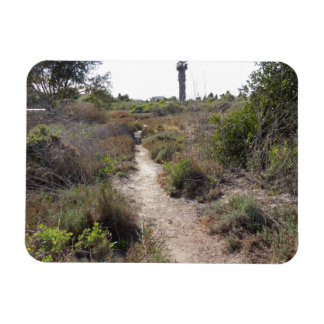 Hiking Trail at Andree Clark Bird Refuge Magnet