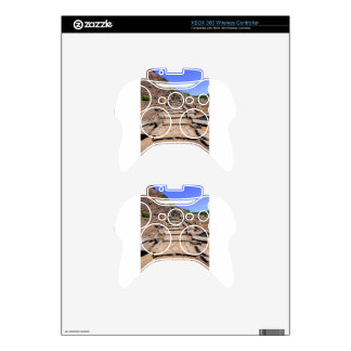 Hiking trail leading up the mountain on Madeira Xbox 360 Controller Skin
