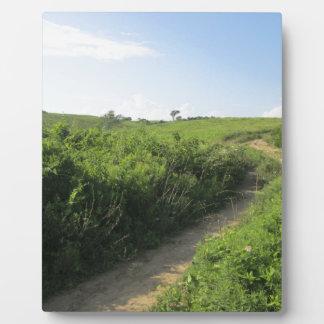 Hiking Trail Photo Plaque