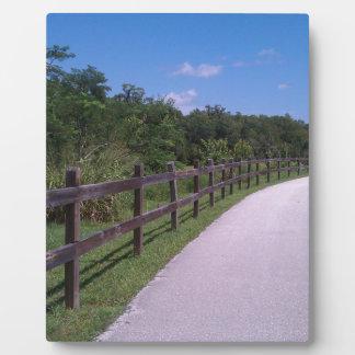 Hiking Trail Plaque