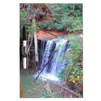 Hiking Trail Waterfall Dry Erase Board