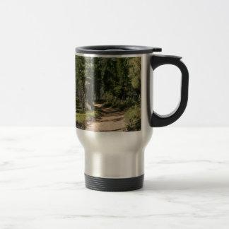 Hiking Trail Yosemite National Park Coffee Mugs