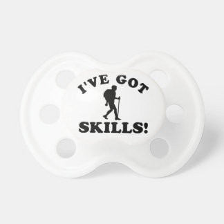 hiking vector designs pacifiers