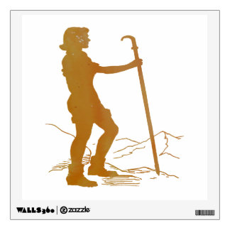 Hiking Wall Sticker