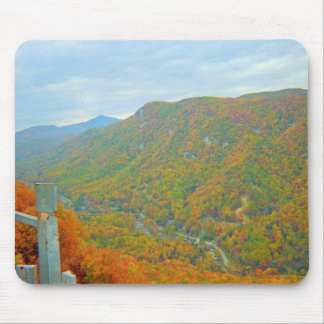 Hiking Way Up In The Mountains Mouse Pad