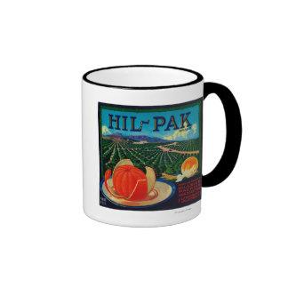 Hil Pak Orange LabelLindsay, CA Mug