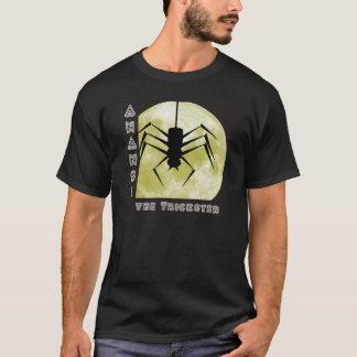 Hila Anansi trickster de spider aquel spi Playera