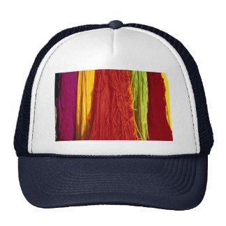 Hilado de lanas coloreado colorido para tejer, Kai Gorras