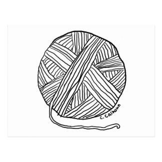 Hilado del o de la bola postal