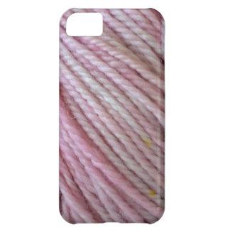 Hilado rosado funda para iPhone 5C