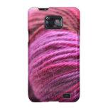 Hilado rosado vibrante galaxy SII funda