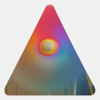 Hilandero Calcomanías Trianguloes Personalizadas