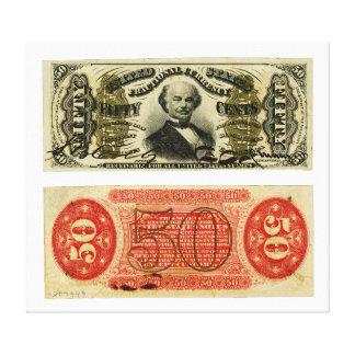 Hilandero de Francisco de la moneda fraccionaria d Impresión En Lienzo